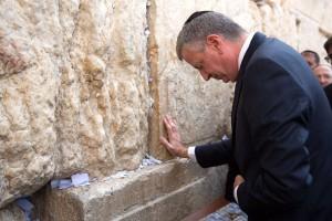 New Yorker Bürgermeister Bill de Blasio besucht Israel in einer angespannten Periode - WSJ