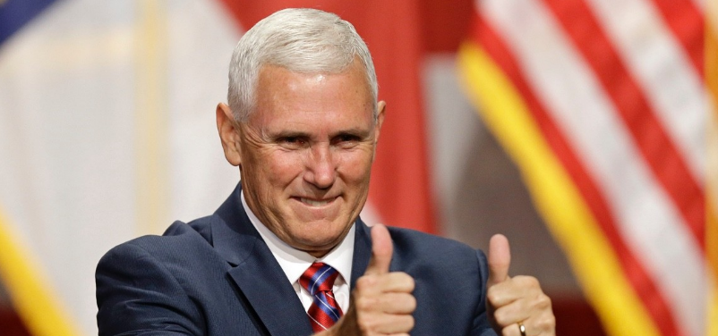 Michael Richard Pence, Vice President of the United States